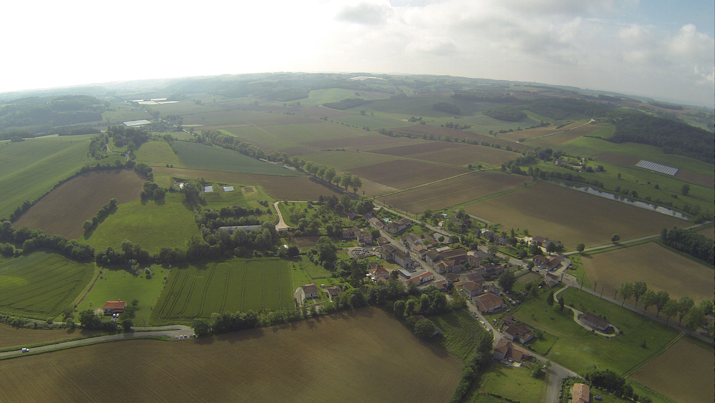 vue aérienne Tayrac