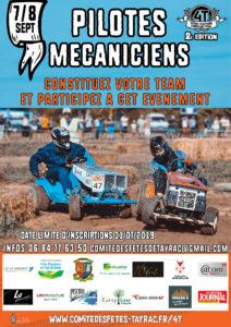Pilotes Mecaniciens, connstituez votre team et participez à cet évènement