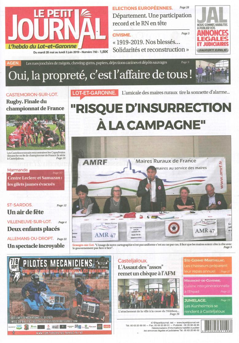 Tayrac Tracteur Tondeuse Trail 4t Médias Comité Des
